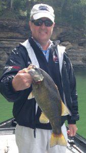 Ralph Stokley smallmouth bass lake cumberland